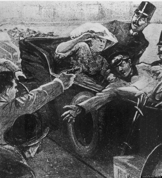 muerte de Franz Ferdinand
