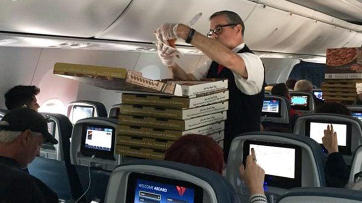 pizza flight
