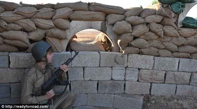 Irlandés en línea de fuego en Irak