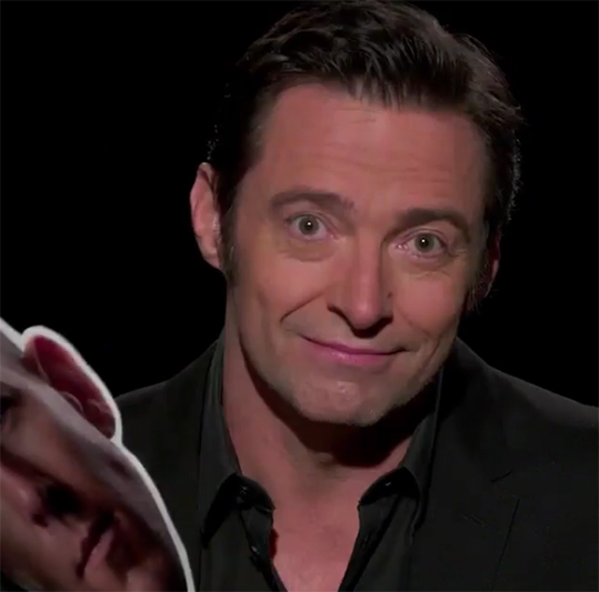 Hugh Jackman en video para Ryan Reynolds