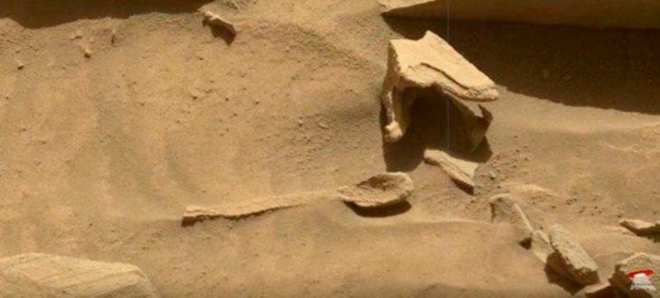 Cuchara en Marte
