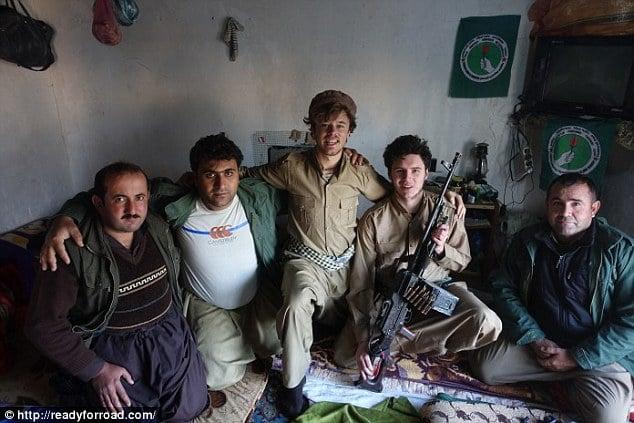 Irlandeses se vuelven combatientes en Irak
