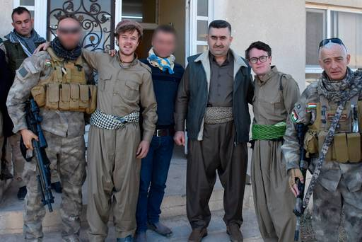 William Meara y Craig Reynolds en Irak