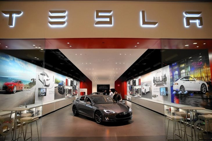 Tesla compañia