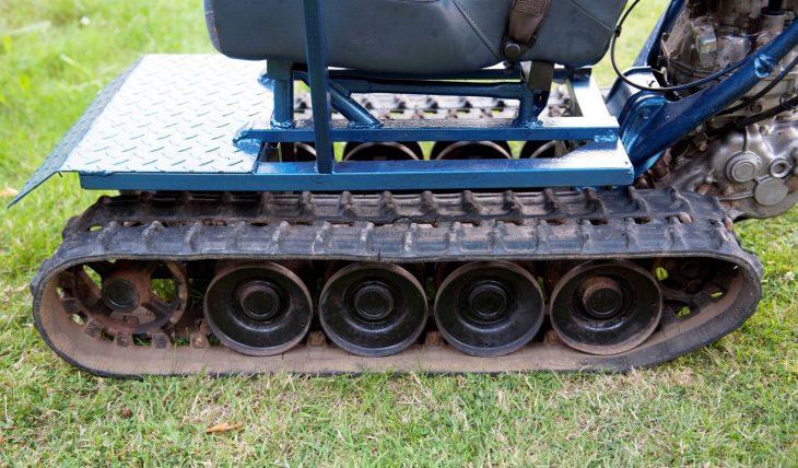 orugas tanque silla