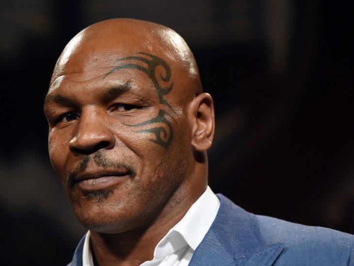 Tatuaje de Mike Tyson en la cara