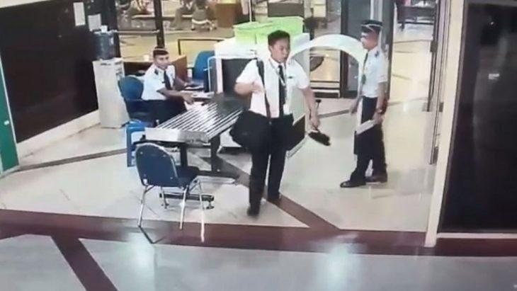 Piloto ebrio en aeropuerto