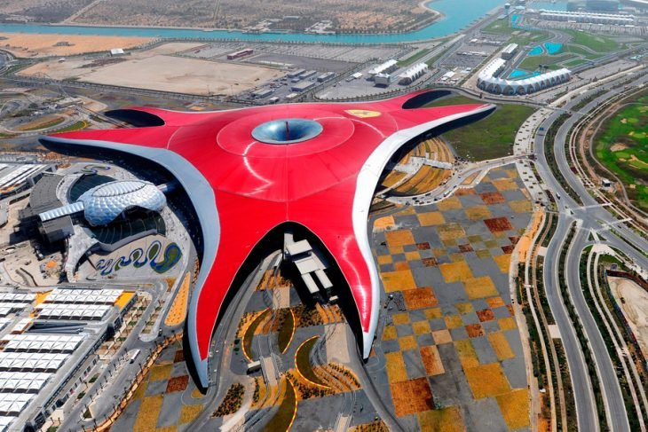 Parque Temático Ferrari en Abu Dhabi