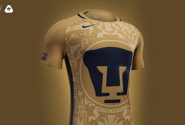 Jersey de los Pumas de la UNAM 2016