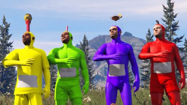 Teletubbies en GTA V