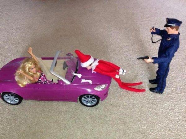 elfo arrestado