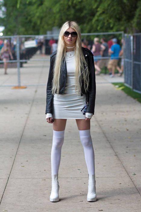 Taylor Momsen quien interpretaba a Cindy Lou