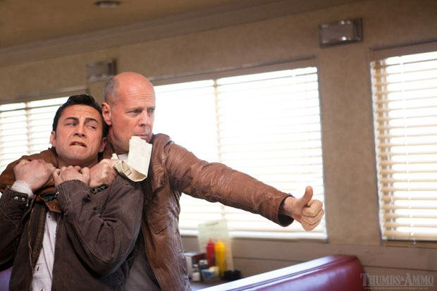Bruce Willis on Looper