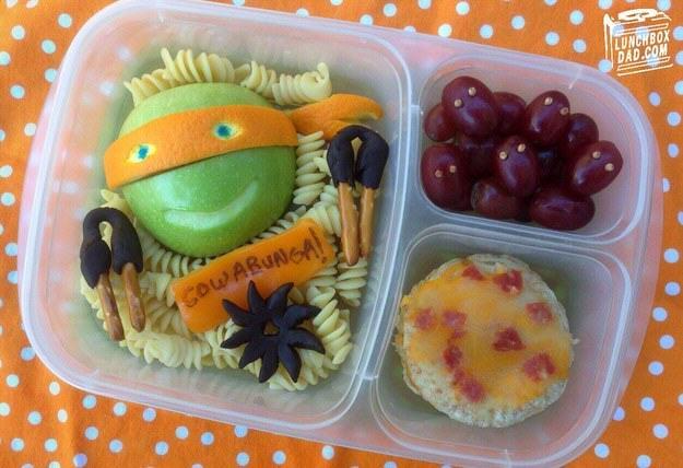 turtle ninjas desayuno