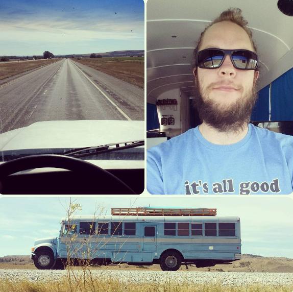 Patrick y su viaje con camión