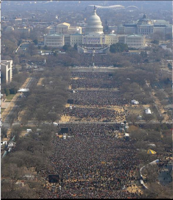 2009 inauguración Trump