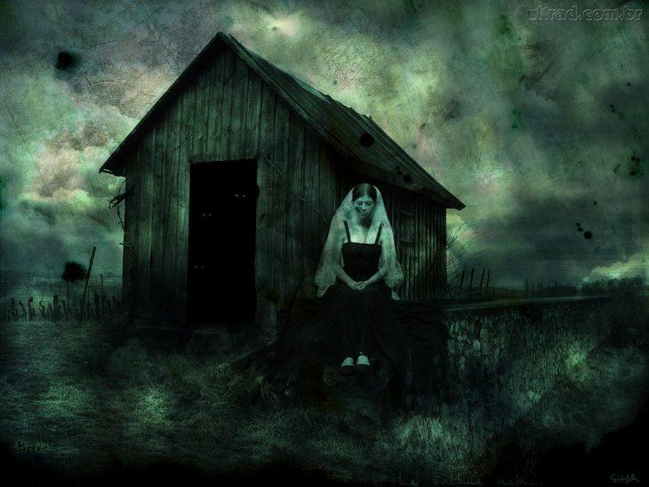 Casa y fantasma