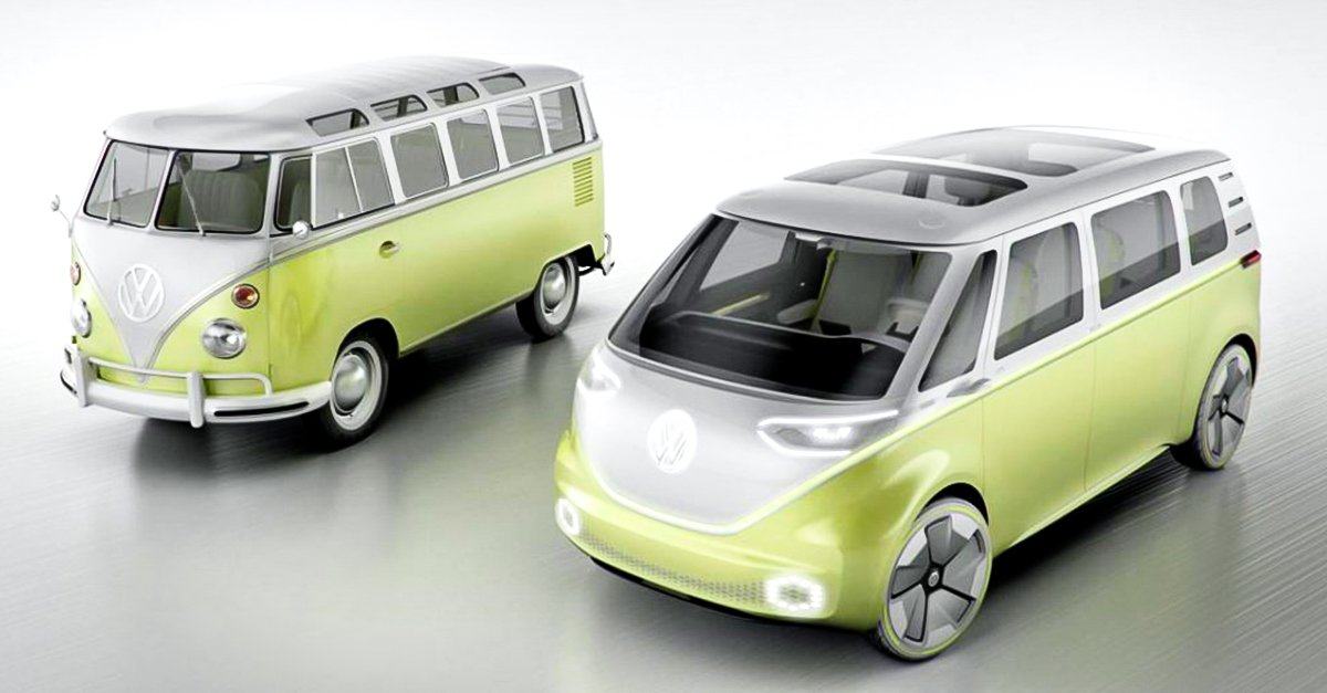 volkswagen saca al mercado nueva combi el ctrica i d buzz. Black Bedroom Furniture Sets. Home Design Ideas