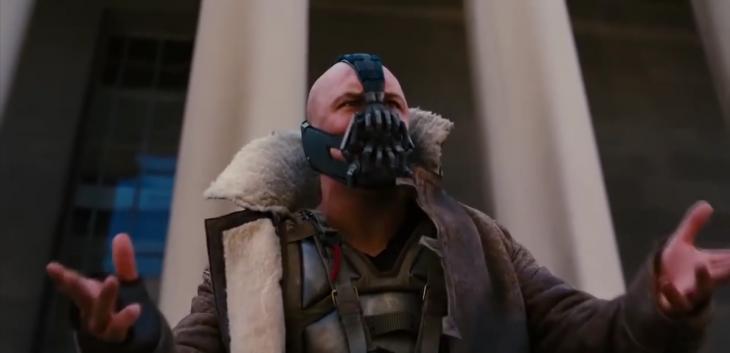 Bane discurso en película Batman