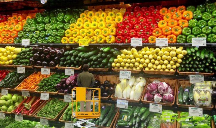 Photoshop verduras