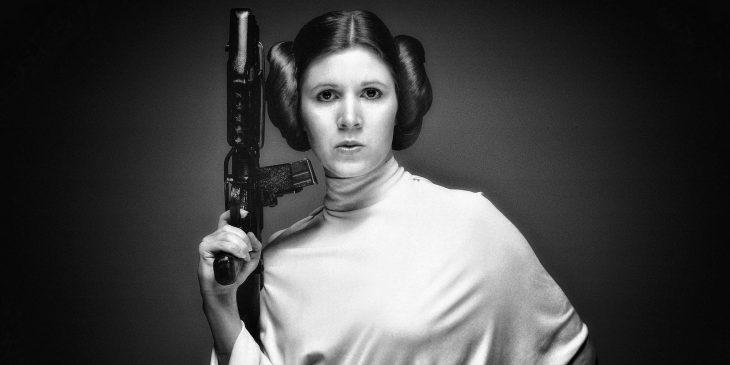 Star Wars princesa Leia con Bláster