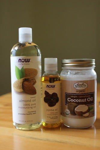 Aceites y crema de coco