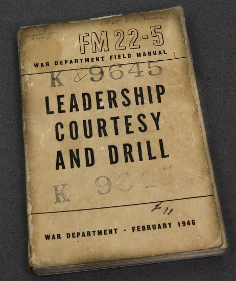 Manual FM22-5