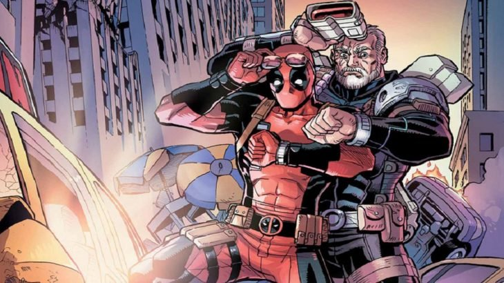 Cómic de Cable y Deadpool