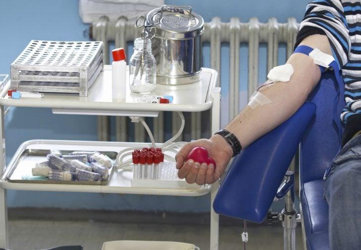 donador de sangre
