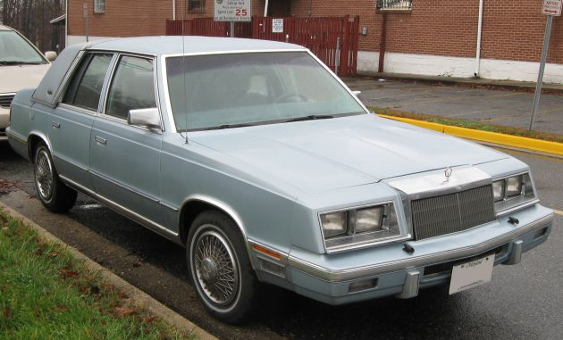 Chrysler Plymouth Reliant 1986