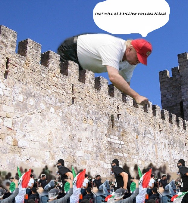 Donald Trump en Batalla de Photoshop