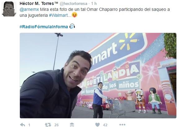Radio Fórmula errores Omar Chaparro