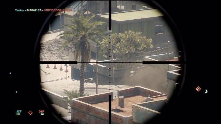Vista de francotirador