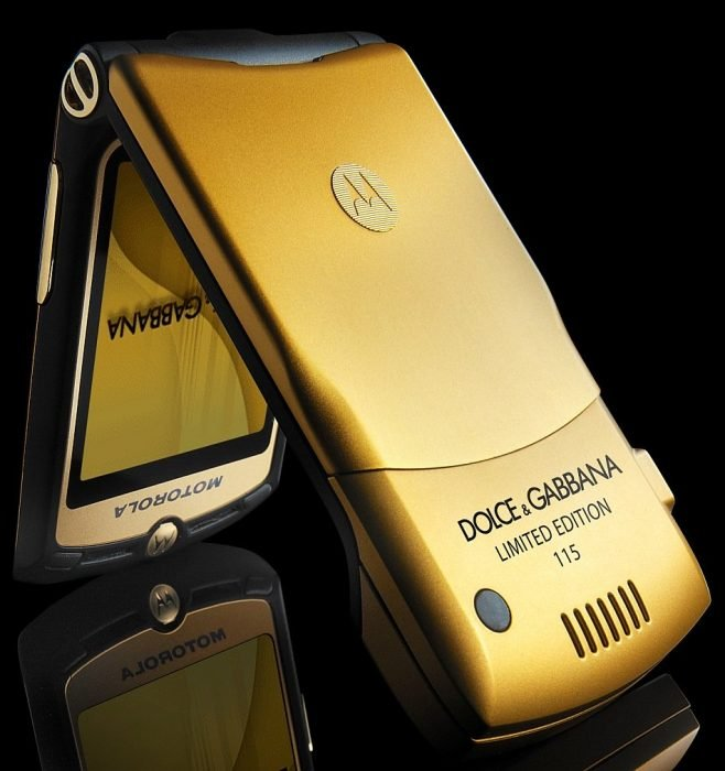 Motorola Dolce and gabana