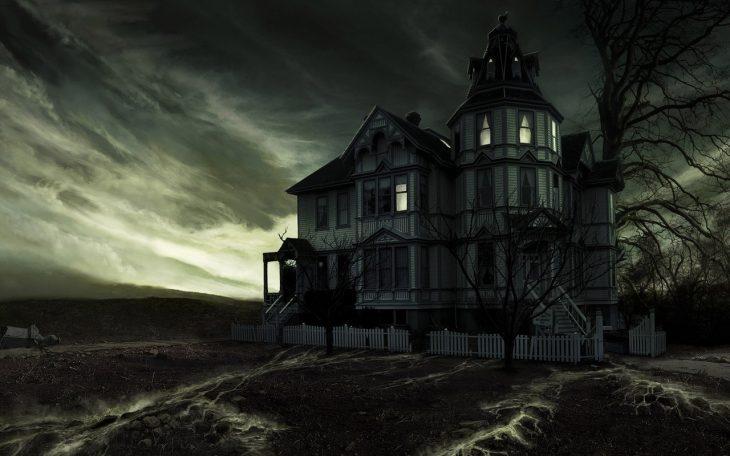 Casa tétrica vieja