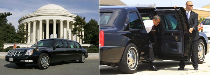 La bestia auto presidencial