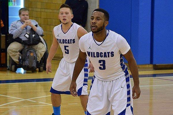 Jugadores de Penn College basket