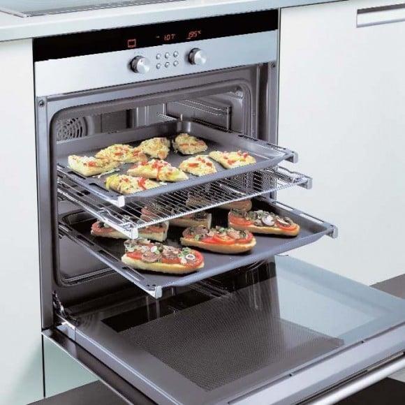 Horno calentar pizza