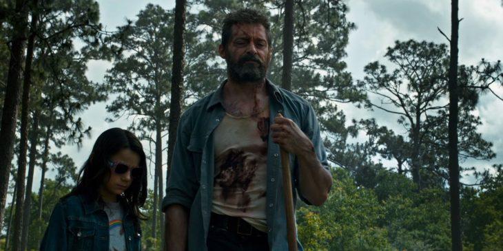Wolverine y Laura Kinney en logan