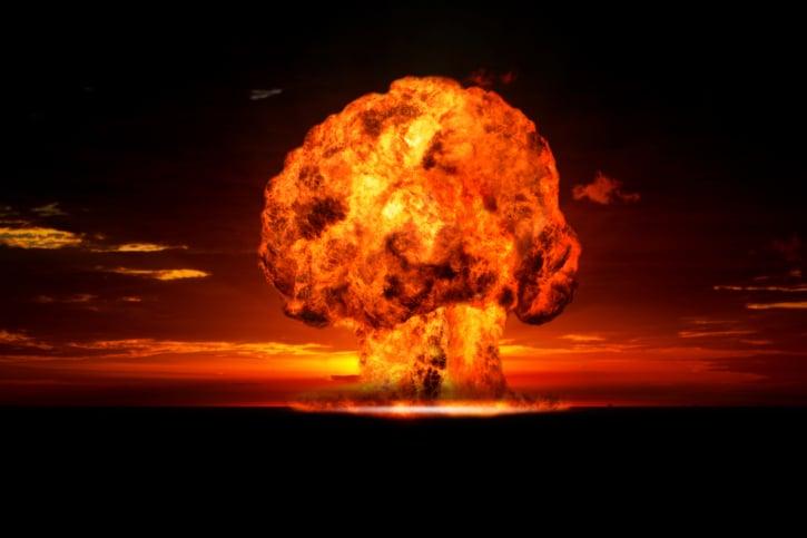Bomba nuclear explosion