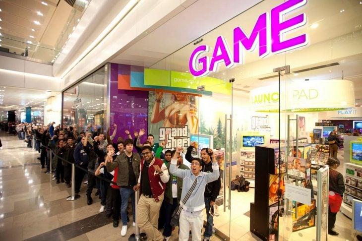 Comprando videojuegos