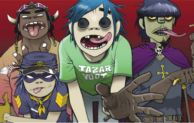 Gorillaz en video de Hallelujah Money