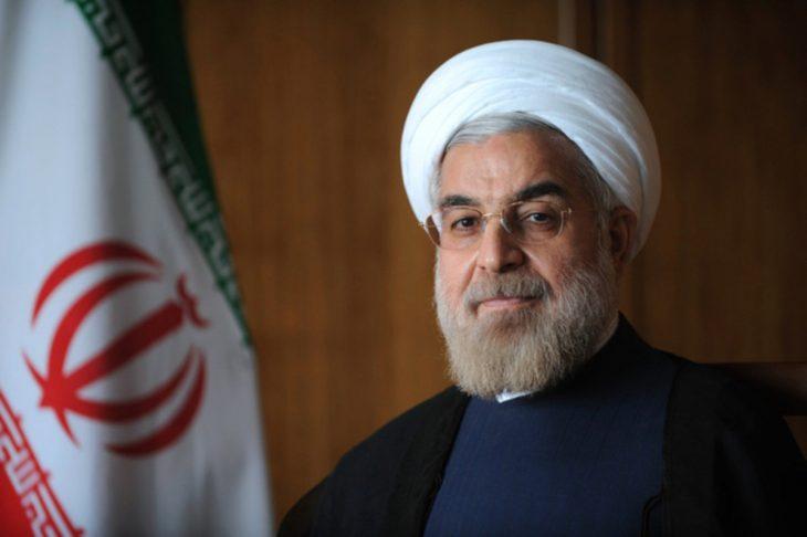 Hassan Rohani, presidente de Irán