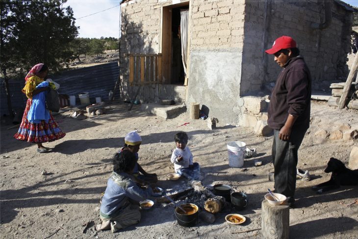 raramuris pobreza