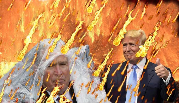 bush ps battle lluvia fuego