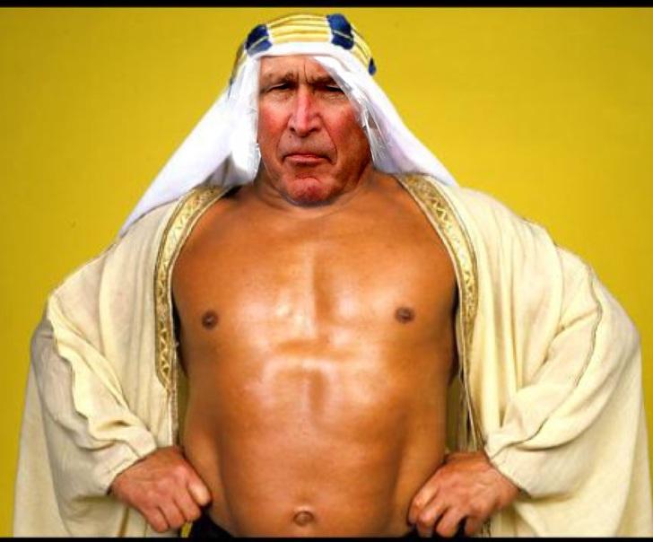 bush ps battle arabe
