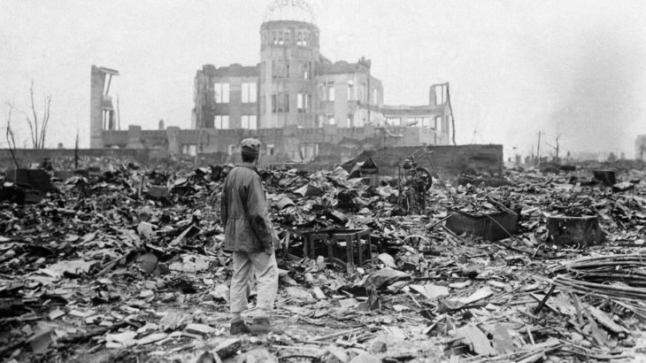 Hiroshima devastada por bomba