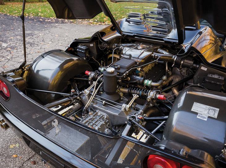 Motor de Ferrari F50