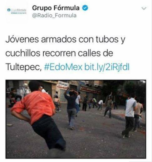 Twitter Radioformula informa