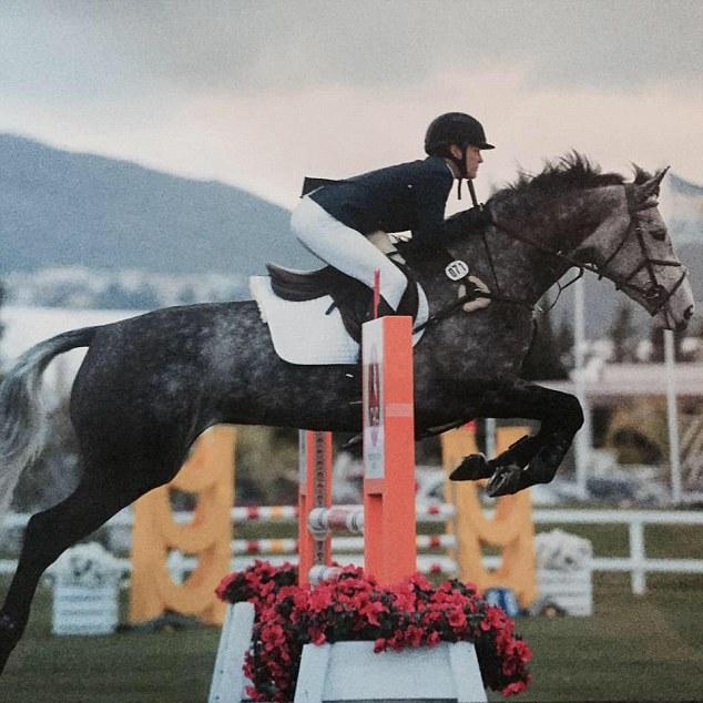 Salto en caballo